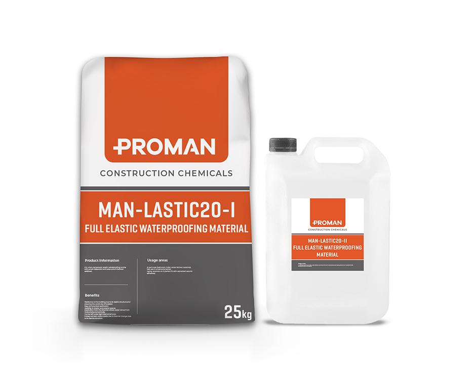 Man-Lastic20-I Full Elastic Waterproofing Material – Proveks